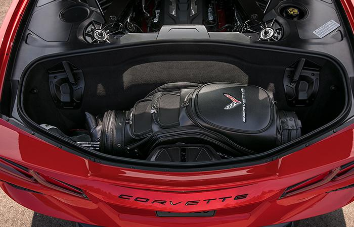 Interior of the 2020 Chevy Corvette available at Spitzer Chevy Amherst