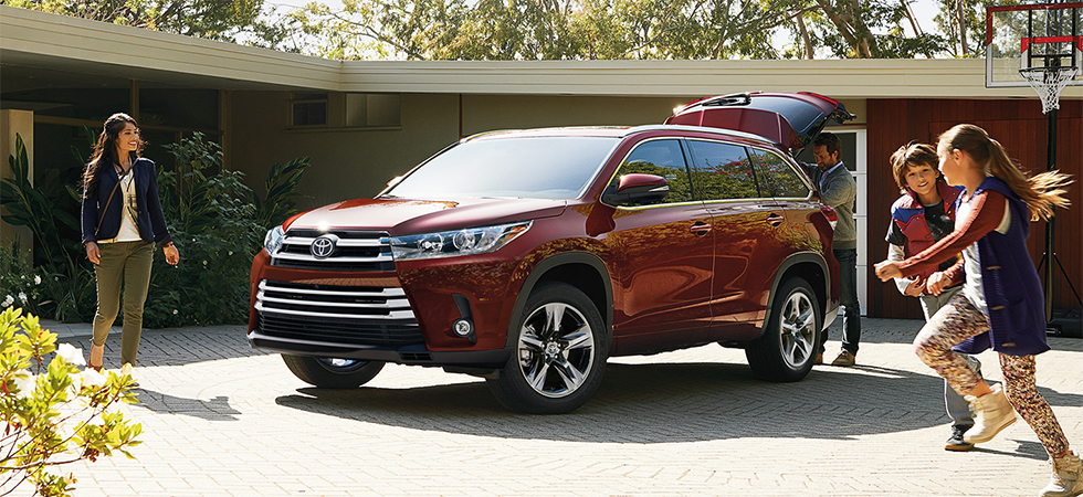 The 2019 Toyota Highlander is available at our Toyota dealership in Atlanta, GA