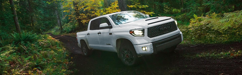 2020 Toyota Tundra offroading