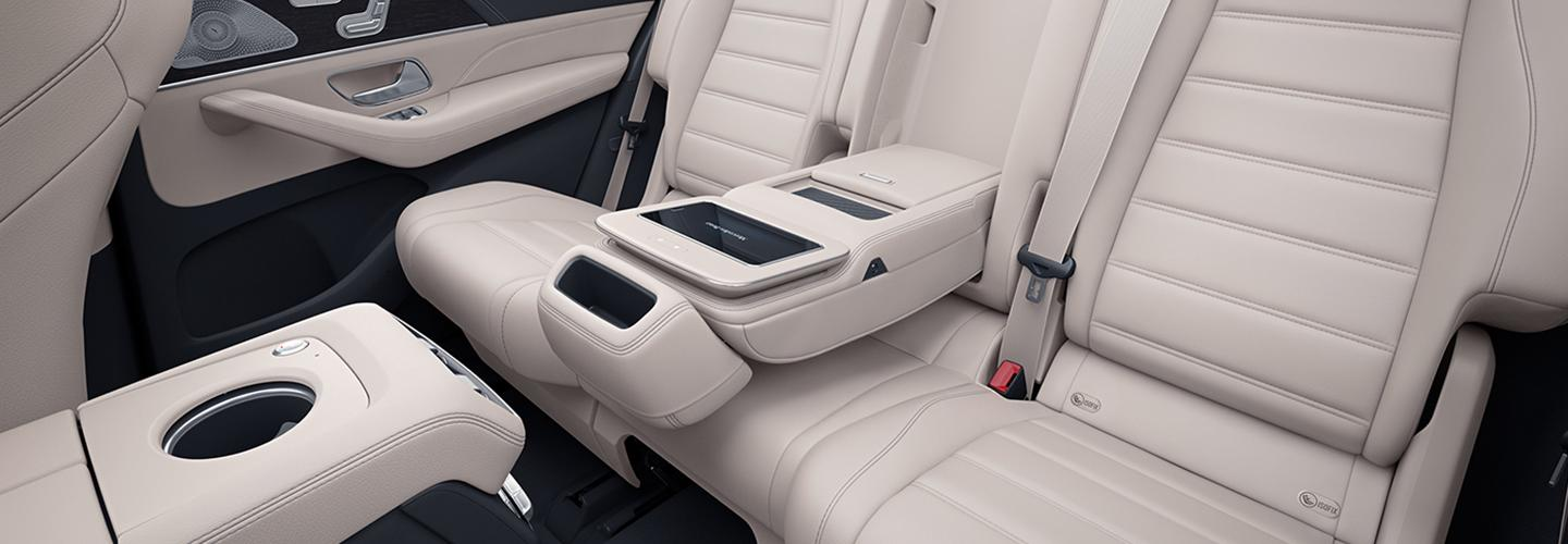 Interior of the 2019 Mercedes-Benz GLS