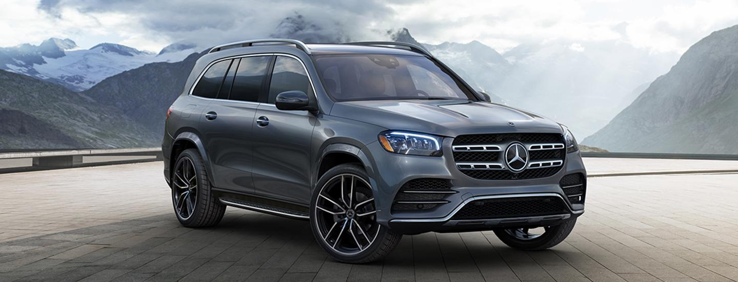 Exterior of the 2019 Mercedes-Benz GLS