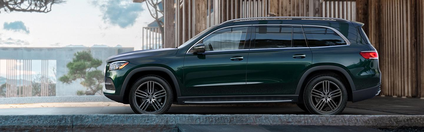 Side view of the 2019 Mercedes-Benz GLS
