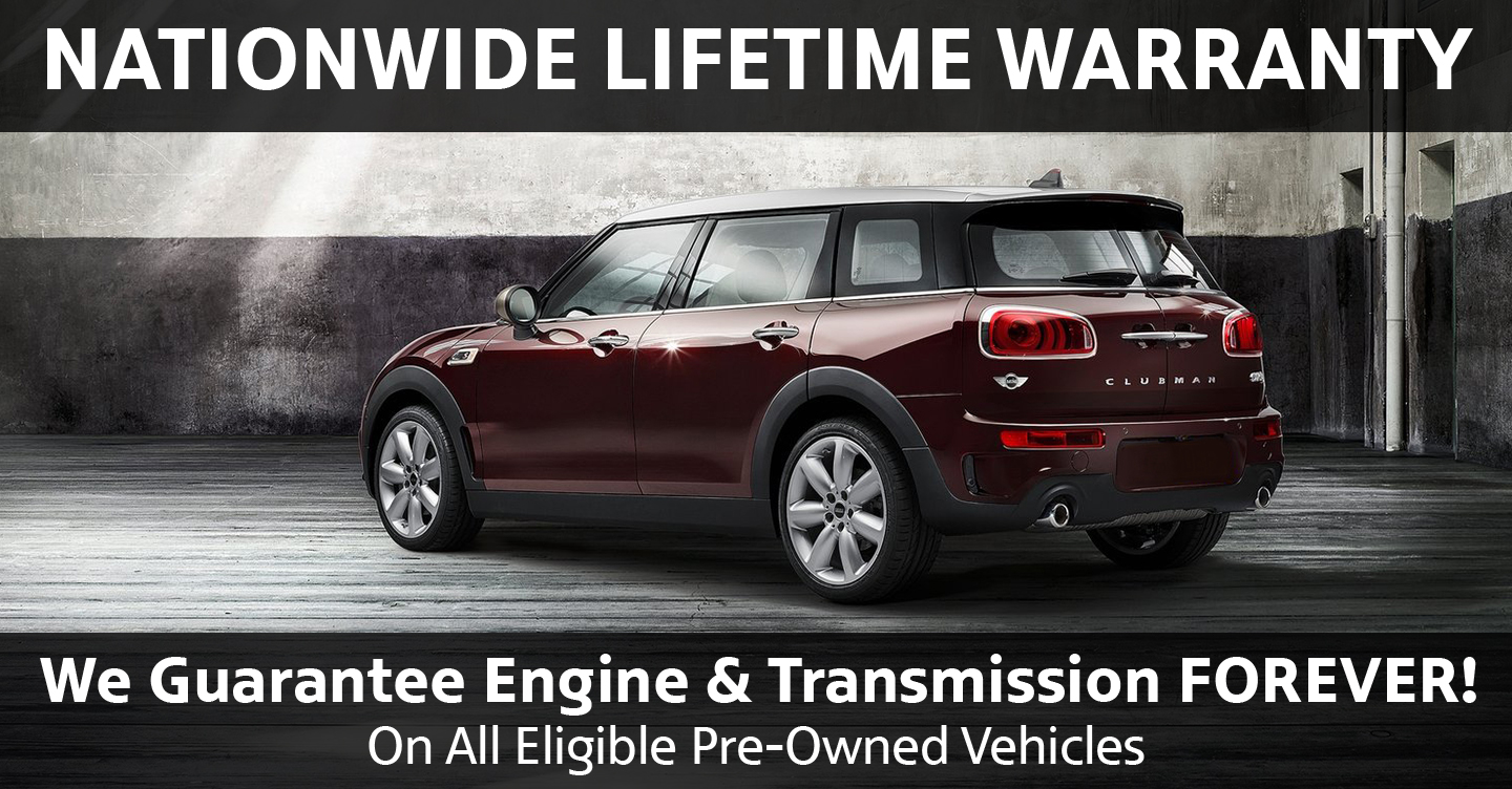 Mini Cooper Warranty >> Mini Of Wesley Chapel Nationwide Lifetime Warranty Mini Of