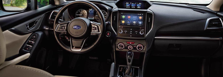 2020 Subaru Impreza interior
