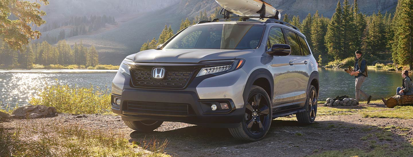 The 2019 Honda Passport is available at our Honda dealership in Miami, FL