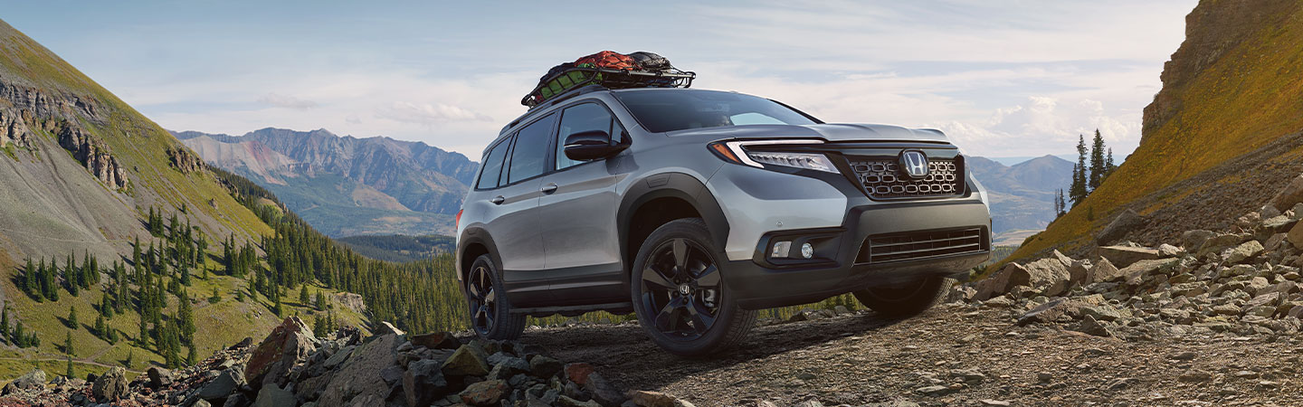 Exterior of the 2019 Honda Passport available at our Honda Dealer in Miami, FL