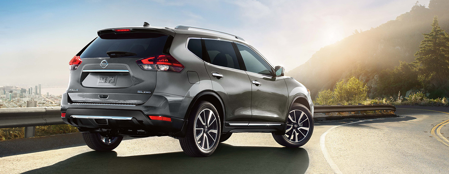 2019 Nissan Rogue Back View Alternate