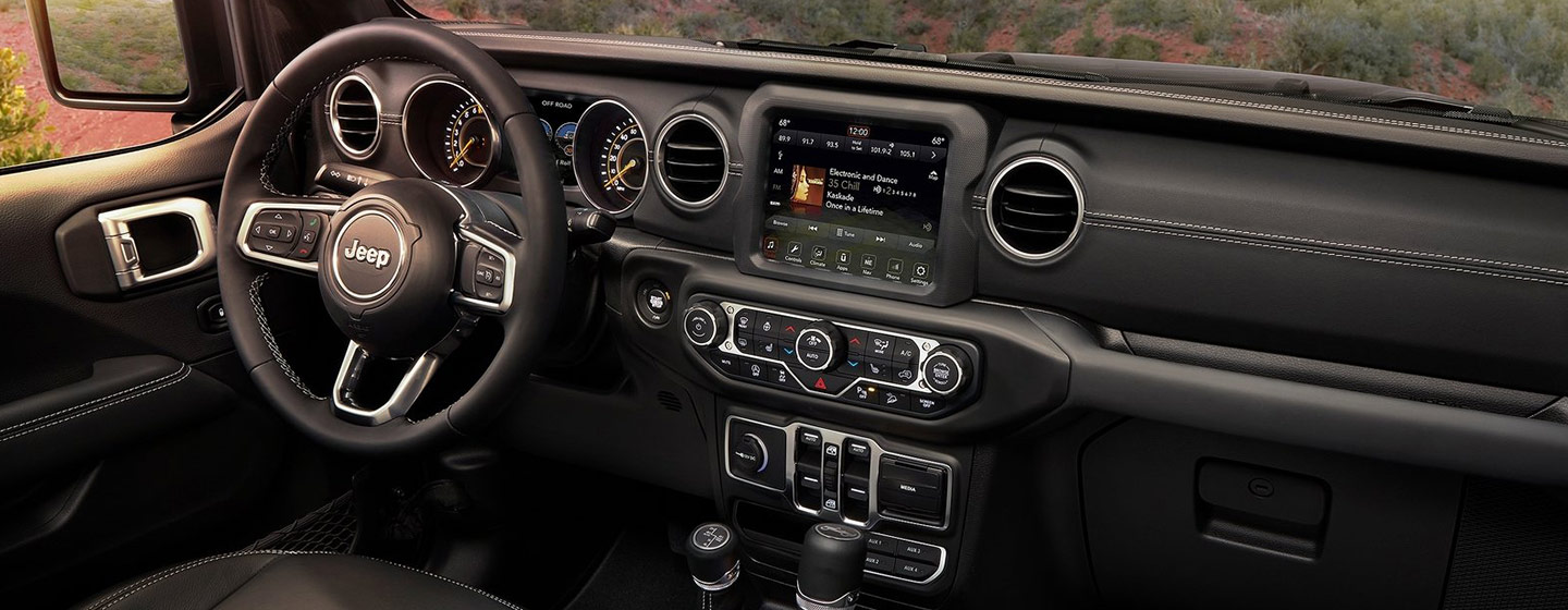 Safety features and interior of the 2018 Jeep Wrangler - available at our Jeep dealership near Columbus, OH