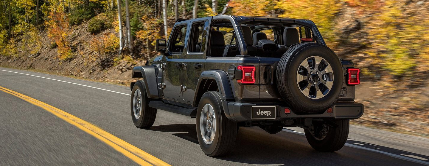 Exterior of the 2018 Jeep Wrangler - available at our Jeep dealership near Columbus, OH