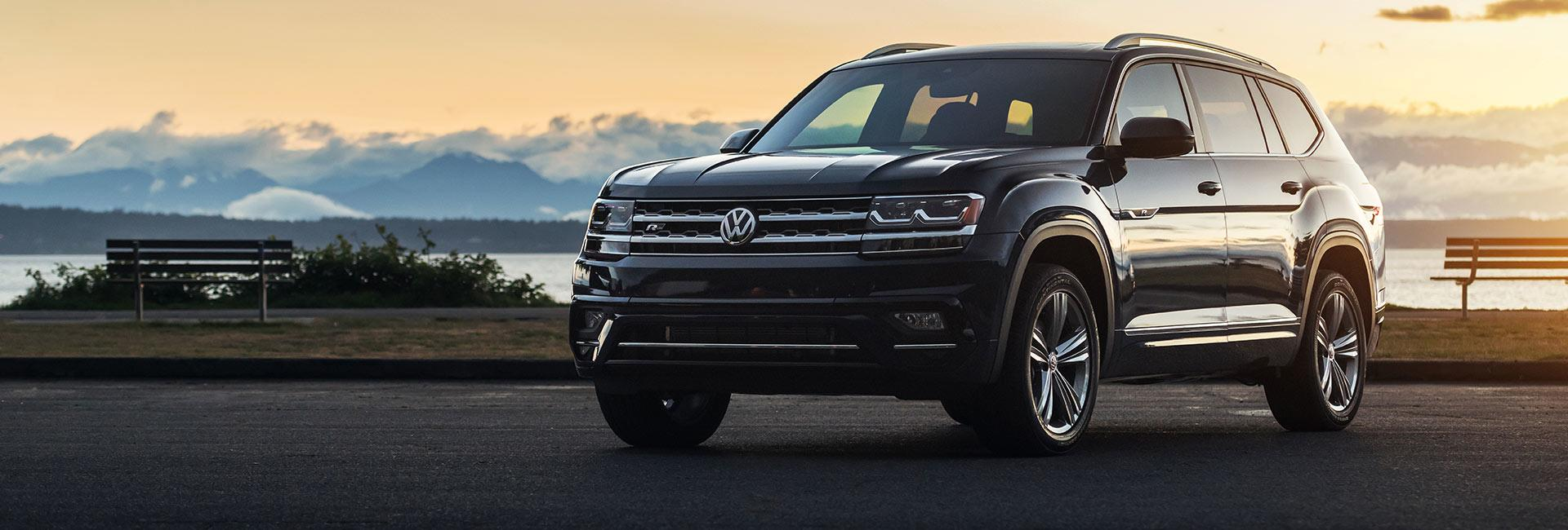 Exterior image of the 2020 VW Atlas in Amherst Ohio