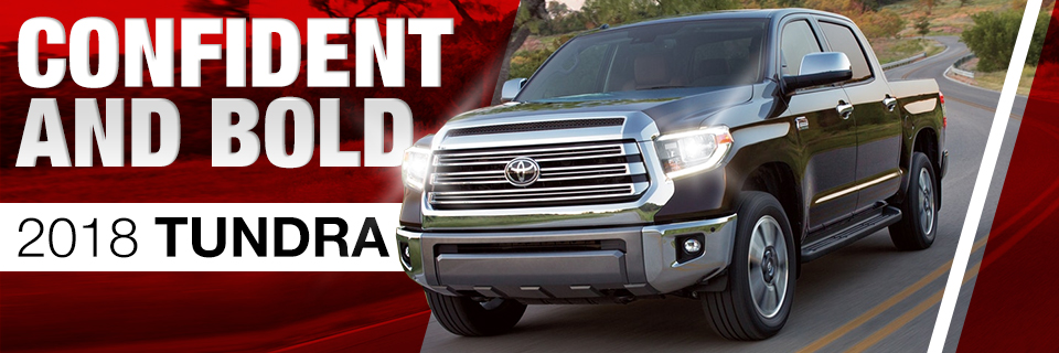The 2018 Tundra is available at Toyota of Tampa Bay in Tampa, FL