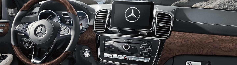 Interior of the 2019 Mercedes-Benz GLS