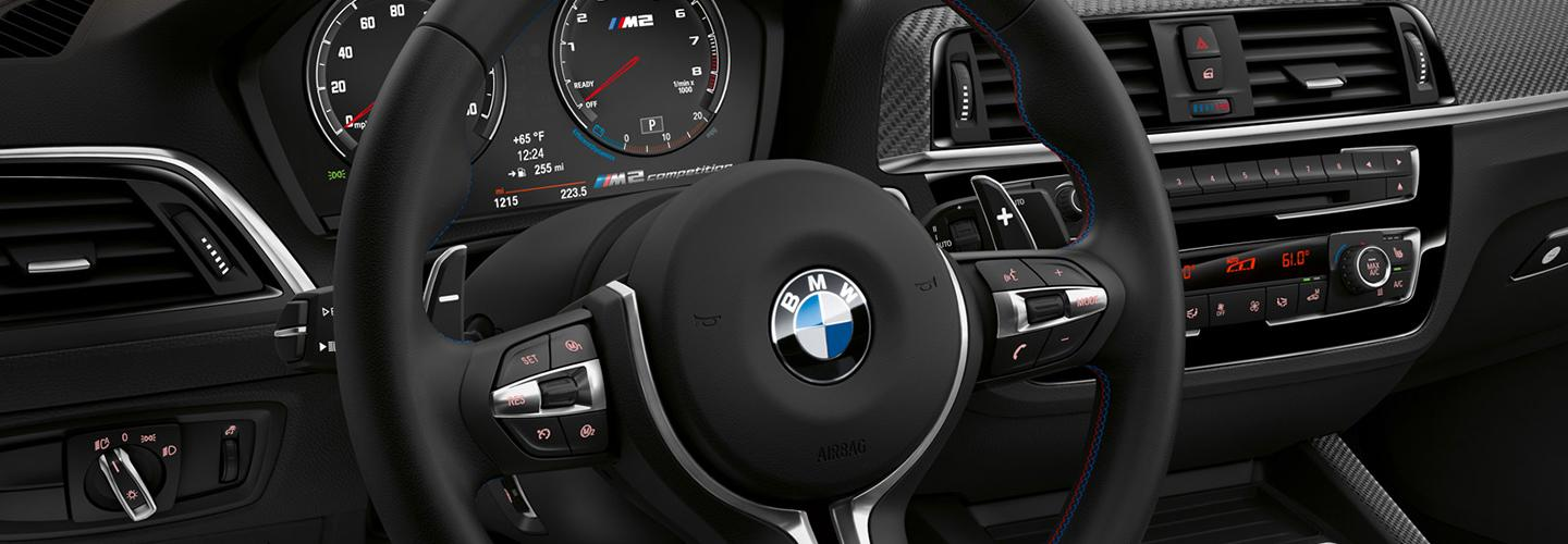 Interior of the 2020 BMW 2 Series