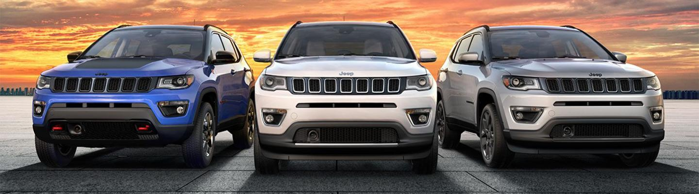 2020 Jeep Compass for sale at Spitzer Jeep dealer in Homestead FL.