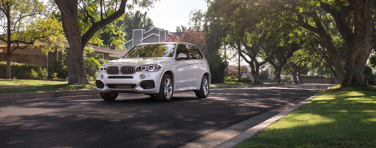 Front Left of the 2018 BMW X5 in Miami