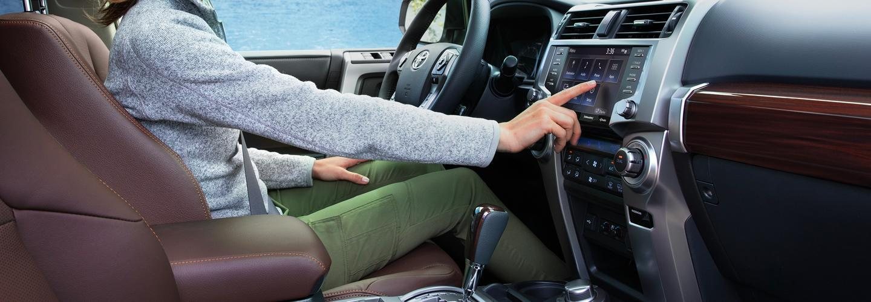 Interior of the 2020 Toyota 4Runner