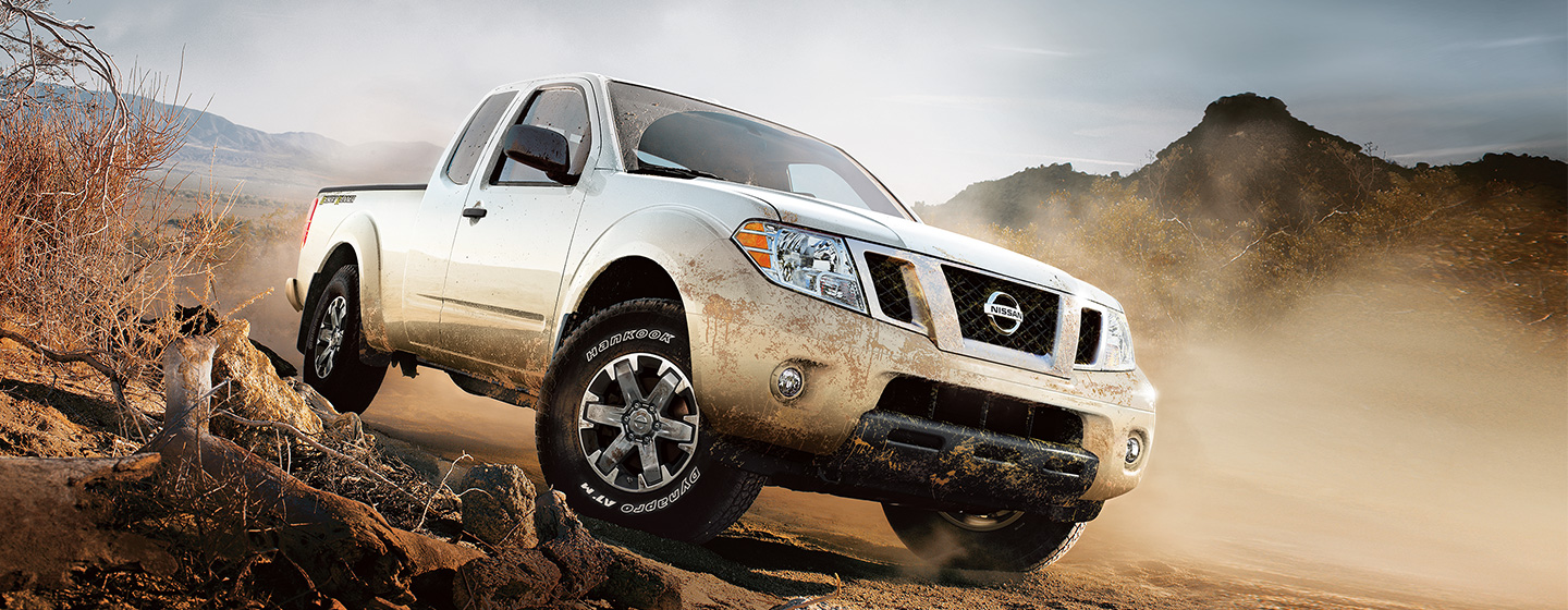 2019 Nissan Frontier driving off-road