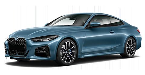 Blue 2021 BMW 4 Series M440i xDrive Coupe