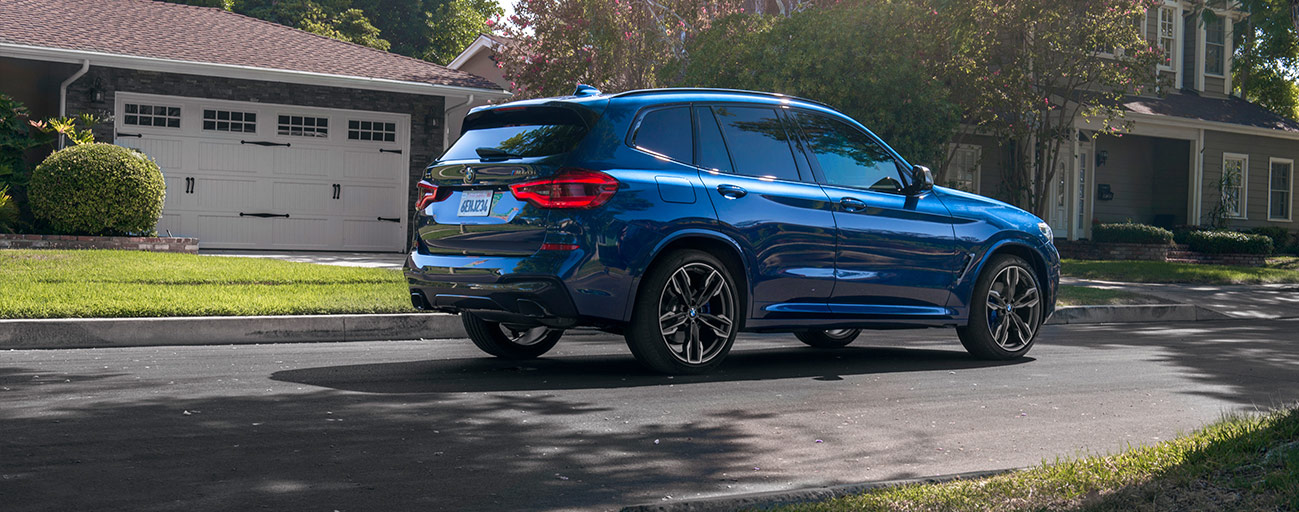 Back right of the 2018 BMW X5 in Fort Lauderdale