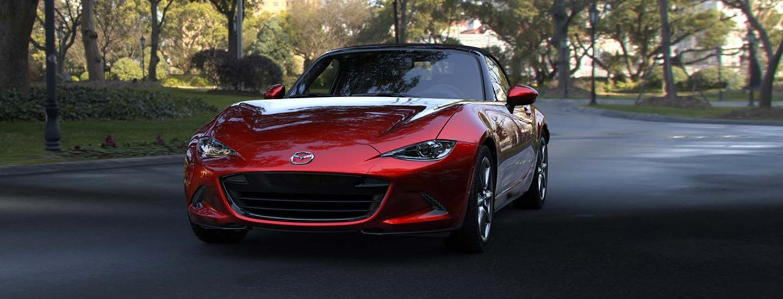 Front view of the 2019 Mazda Miata