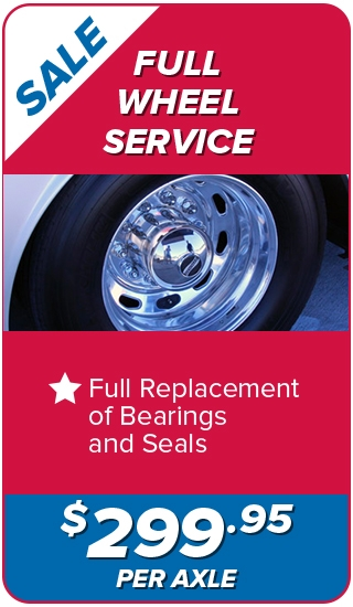 Full Wheel Service $299.95