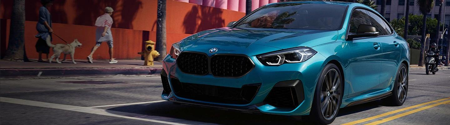 2020 BMW 2 Series Gran Coupe driving on a city street