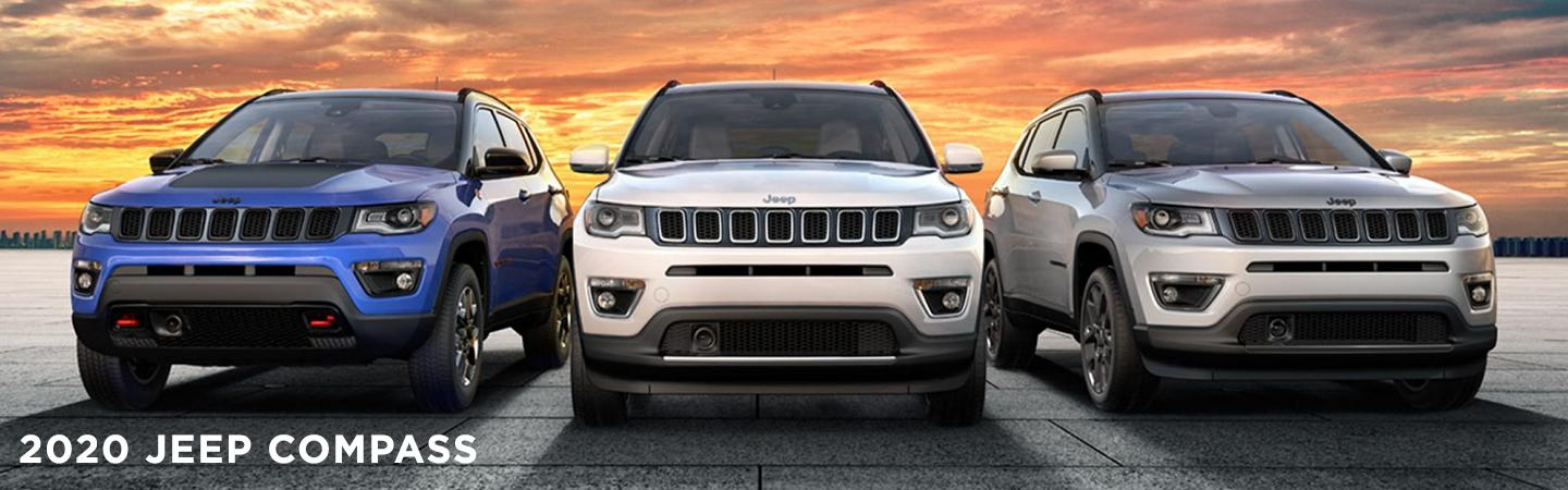 Exterior of the Jeep Compass