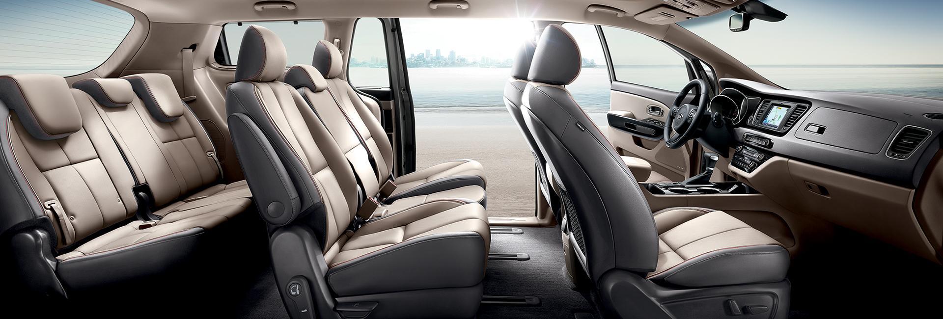 Interior picture of the 2020 Kia Sedona