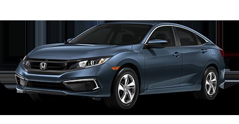 Honda Civic LX - Blue