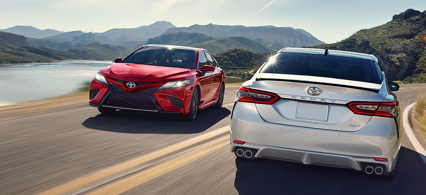 The 2019 Toyota Camry is available at our Toyota dealership in Atlanta, GA
