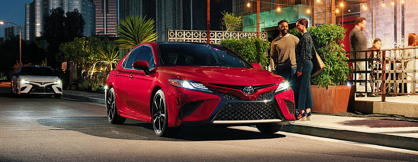 2019 Toyota Camry Exterior - Parked outside of a store.