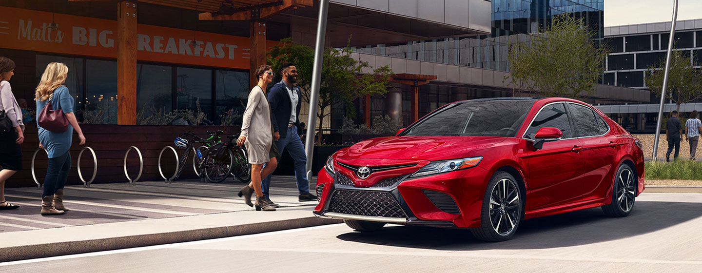 2019 Toyota Camry Exterior - Parked outside of a restaurant.