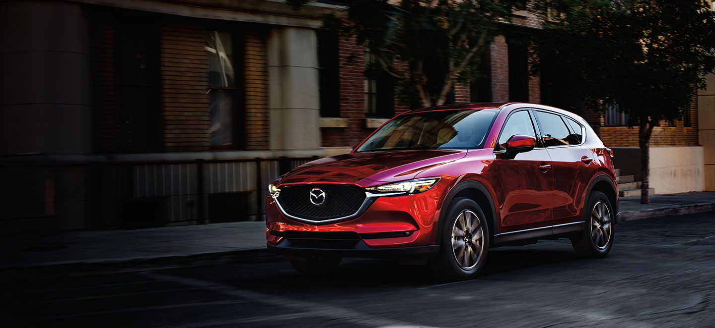 The 2018 Mazda CX-5 is available at our Mazda dealership in Naples, FL.