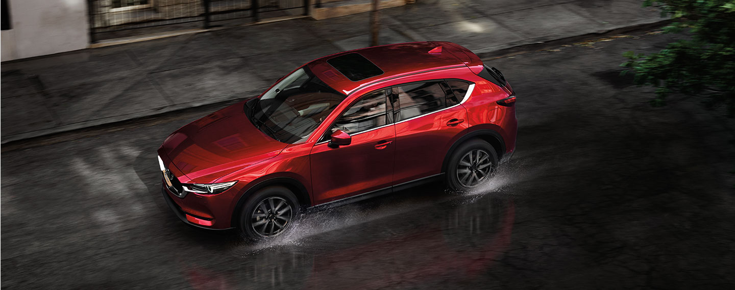 Exterior of the 2018 Mazda CX-5 - available at our Mazda dealership near Naples.