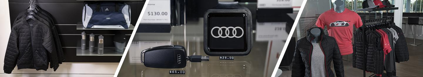 Image of accessories at Audi Clearwater