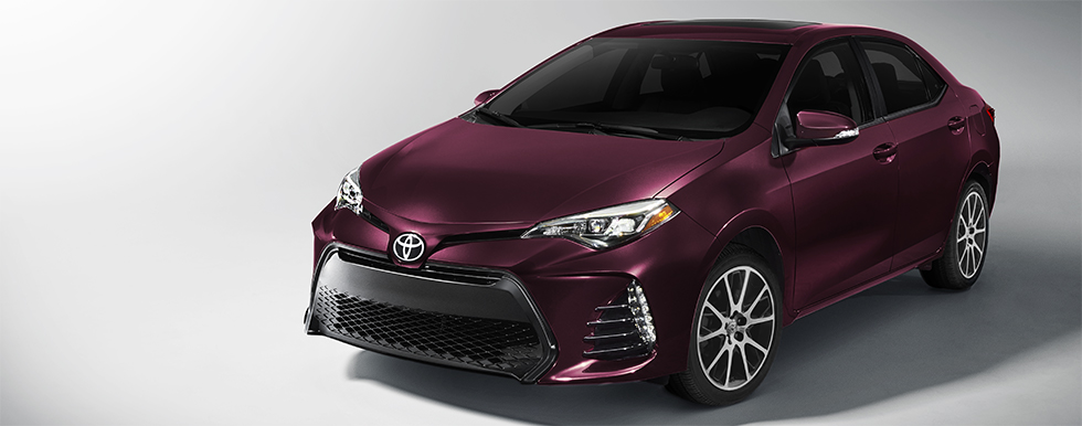 Exterior of the Corolla at our Toyota dealership in Lake City, FL.
