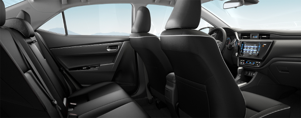 Safety features and interior of the 2019 Toyota Corolla - available at our Toyota dealership near Gainesville