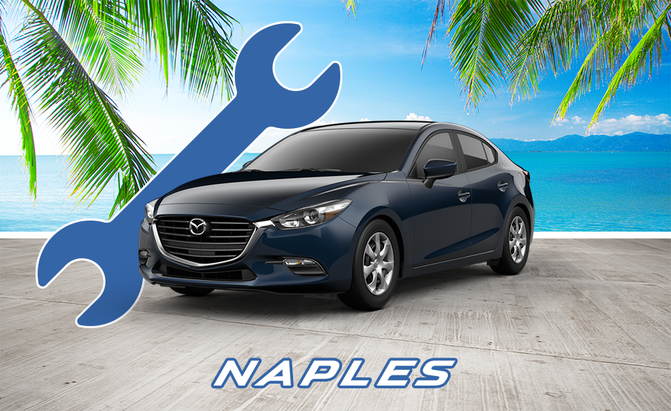Get your Mazda Oil Change Service and Auto Repair at your local Mazda Dealer in Naples, FL