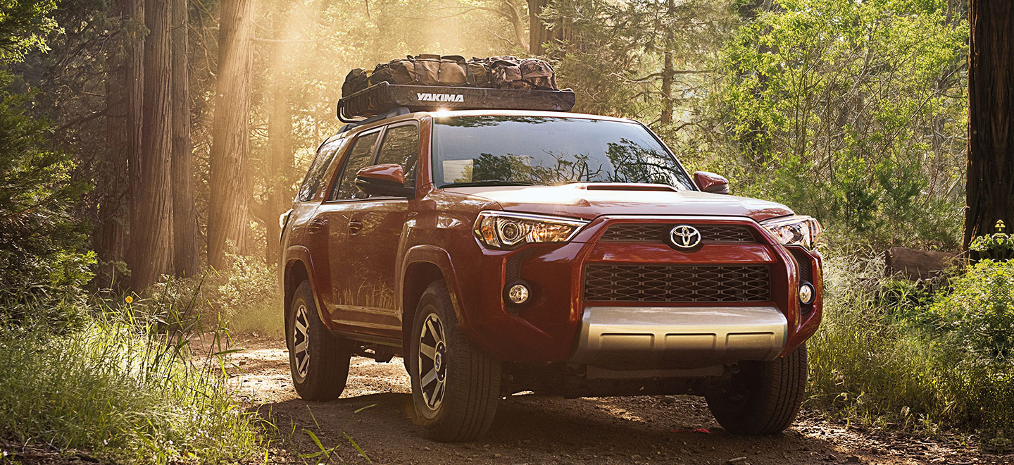 The 2019 Toyota 4Runner is available at our Toyota dealership in Rock Hill, SC.