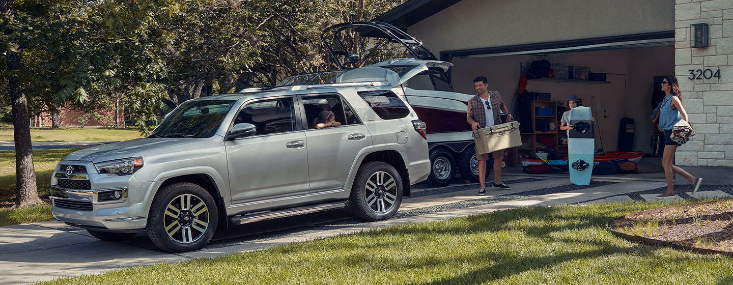 2019 Toyota 4Runner towing