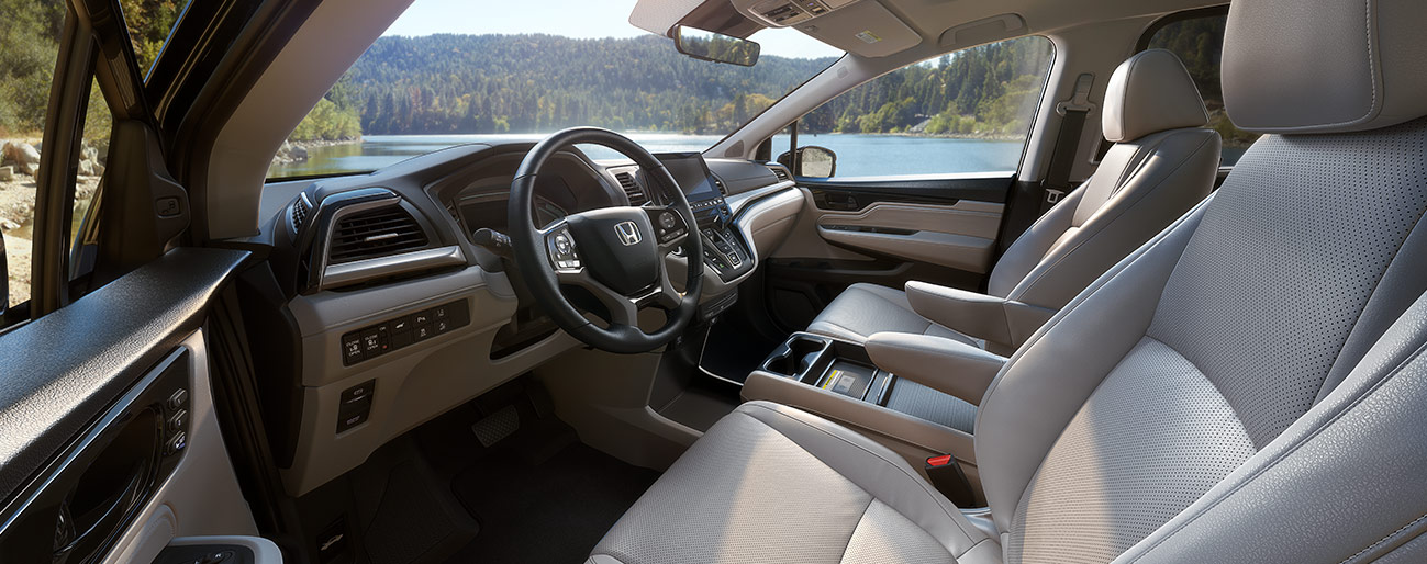 Interior and Safety Systems of the 2019 Honda Odyssey at South Motors Honda, your local Honda Dealer in Miami