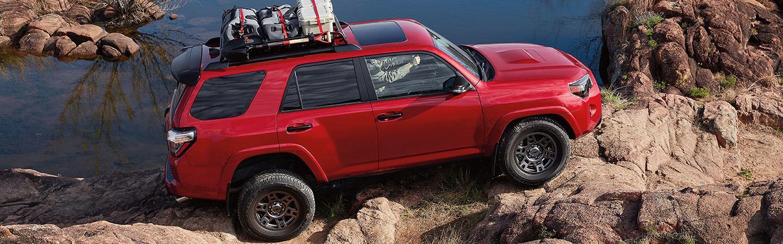 2020 Toyota 4Runner parked on rugged terrain