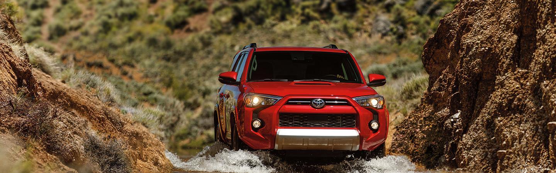 2020 Toyota 4Runner driving through water