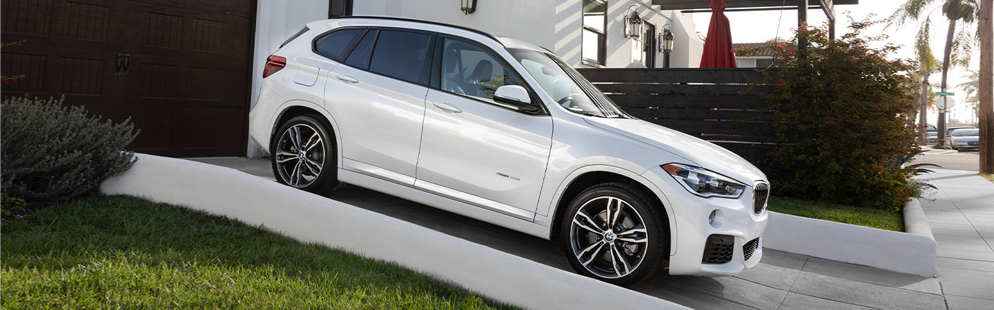Exterior of the 2019 BMW X1 available at South Motors BMW