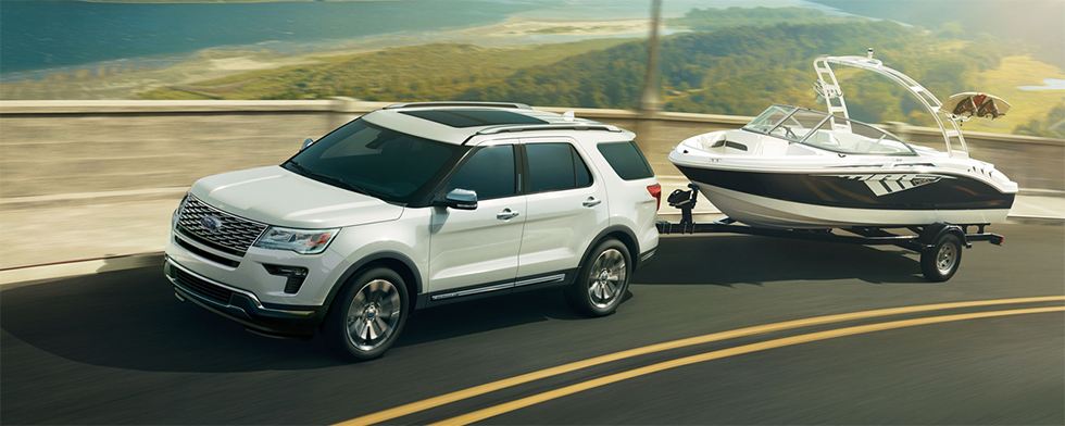 Exterior of the 2019 Ford Explorer - available at our Ford dealership near Scranton, PA.