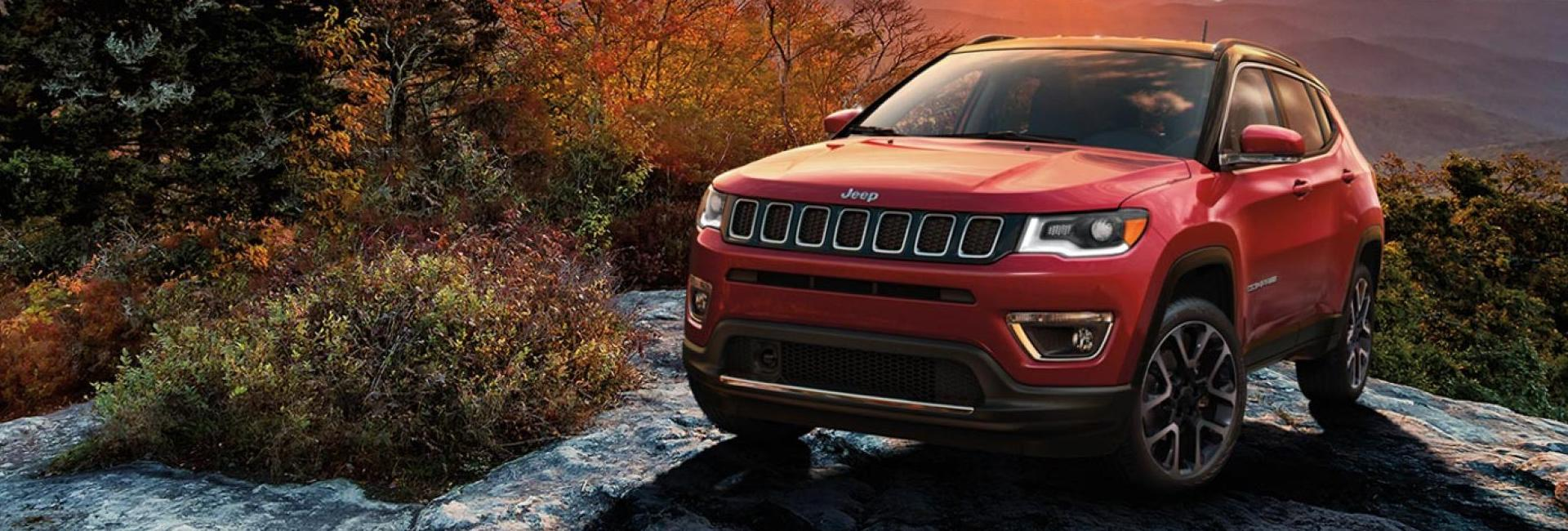 Image of the 2020 Jeep Compass for sale at Spitzer Jeep Dealer Mansfield Ohio