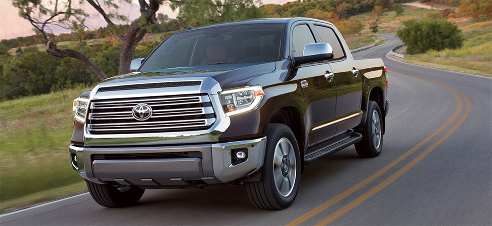 The 2019 Toyota Tundra is available at our Toyota dealership in Columbus, GA.