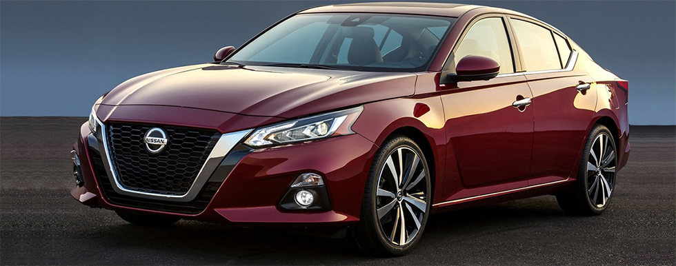 Exterior of the 2019 Nissan Altima- available at our Nissan dealership in Flagstaff, AZ.