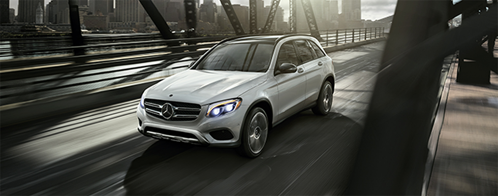 Exterior of the 2018 Mercedes-Benz GLC 300 - available at our Mercedes-Benz dealership in Gainesville, FL.