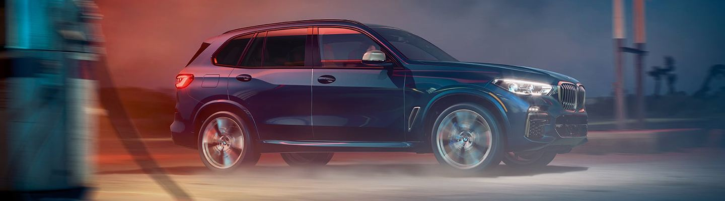 2020 BMW X5 in motion